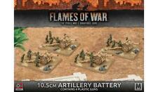 Flames of War: Afrika Korps 10.5cm Artillery Battery (Plastic)