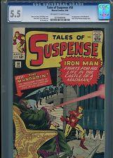 Tales of Suspense #50  (1st Mandarin)  CGC 5.5  OW-WP