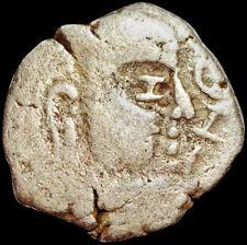 ANCIENT - GUPTA EMPIRE - SKANDAGUPTA (455-467 AD) SILVER DRACHM -GARUDA  #GUM167