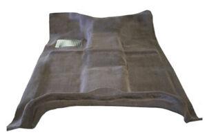 New! 2003-2008 DODGE RAM Molded Carpet Set Standard-Quad Cab Black, Silver Slate