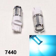 Rear Turn Signal LED 33 Bulb Ice Blue W21W T20 7440 7441 992 B1 #12 For Dodge