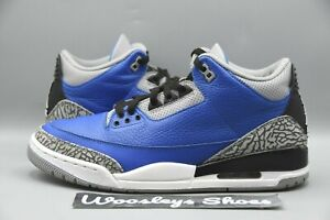 "Lightly Worn Air Jordan 3 Retro ""Varsity Blue"" (CT8532-400) Size 10.5"