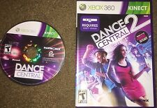 Microsoft Xbox 360 - Dance Central 1 (Disc Only) and 2 - Free Shipping!