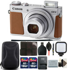 Canon Powershot G9 X Mark II 20.1MP Digital Camera with Great Value Bundle