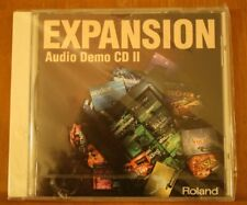 EXPANSION Audio Demo CD 11 Rolland  Music & sound SR-JV80 Series expansion board