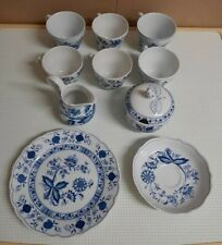 Porzellan Zwiebelmuster - 10 Teile - verschiedene Marken und Formen