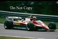Gilles Villeneuve Ferrari 126 C2 Belgian Grand Prix 1982 Photograph 2