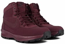 MEN'S SIZE 9.5 NIKE MANOADOME BOOTS SHOES SNEAKERS MAROON 844358 600