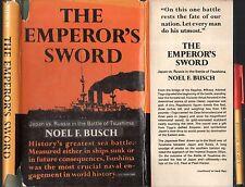 War RUSSIA v JAPAN The EMPEROR'S SWORD Noel F Busch GREATEST SEA BATTLE 1st Ed