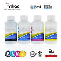 RIHAC Pigment Refill Ink to suit Epson 252 254XL Workforce WF7710 WF7720 WF7725