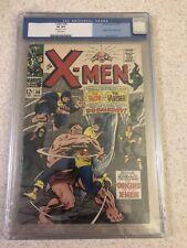 X-MEN #38 (1963) CGC 8.0. White Pgs. Origins Of The X-men! Case Cracked Pic #9
