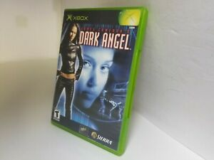 JAMES CAMERON'S DARK ANGEL game (Original Xbox) BOX AND GAME ONLY & Tested B36