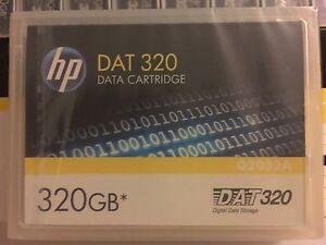 HP Q2032A DAT320 Data Tape Cartridge 320gb Q2032-60000 NEW fac. sealed DAT 320