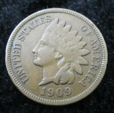 1909 Indian Head One Cent * Weak but Full Liberty * Great for a Book * Nice!