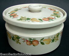 Wedgwood Quince Pattern Lg 5pt Vegetable / Casserole Dish & Lid Tureen 22cm VGC