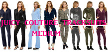 NWT Juicy Couture Tracksuit Velour Jacket Jogger or Bootcut Pants sets Women M