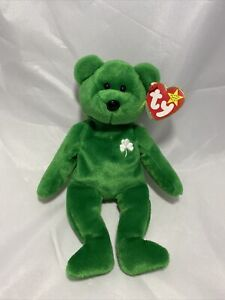 ty beanie baby erin the bear 1997 retired. New With Tags
