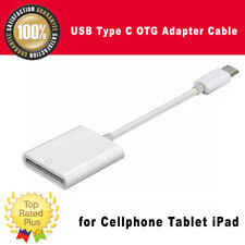 New USB Type C OTG Adapter Cable to SD-Card Reader for Cellphone Tablet iPad
