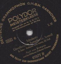 Paul van Kempen Philharmonie Dresden : Unvollendete von Franz Schubert