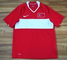 TURKEY NATIONAL TEAM HOME FOOTBALL SHIRT 2008-2009 JERSEY NIKE SIZE SMALL ADULT