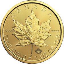 2019 1 oz Canadian Gold Maple Leaf Coin BU