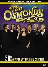 The Osmonds - Reunited Live In Las Vegas (DVD 2008 2-Disc Set) 50th Anniversary+