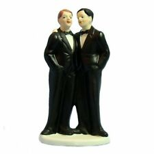 Gay Men Wedding Cake Topper