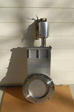 """Vat Vacuum Gate Valve ~ 10"""" Air Operated-Stainless Steel Ss Pneumatic Motorized"""