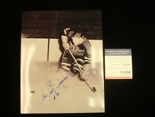 "Red Sullivan Chicago Black Hawks Autographed 8"" x 10"" Photograph PSA/DNA"