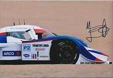 Marino FRANCHITTI Signed Autograph MAZDA Lola USA Le Mans 12x8 Photo AFTAL COA