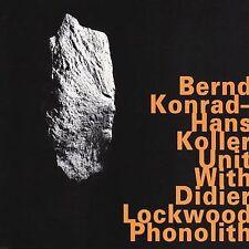 Phonolith by Bernd Konrad (CD, Nov-2000, Hatology)