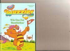 WUZZLES WIN ONE FOR BUMBLELION BOOK RETRO 80S KIDS HARDBACK