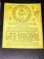 TALISMAN Hébraïque qui préserve des sorts de Lilith +++