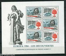 Europa CEPT 1994 Monaco blok 63  - Cataloguswaarde € 12