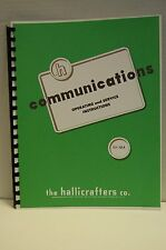 Hallicrafters SX-101A Operating & Service Manual