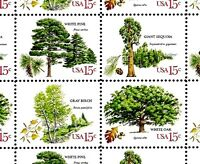 1978 - TREES - #1764-67 Full Mint -MNH- Sheet of 40 Postage Stamps