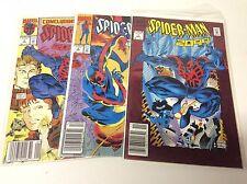 SPIDER-MAN 2099 #1-3 (MARVEL/1992/DAVID/RARE HTF NEWSSTAND/0515103 FULL SET OF 3