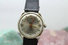 Vintage Enicar Ultrasonic 17j Automatic Gold Tone Men's Wrist Watch Running