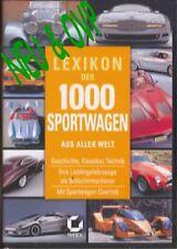 CD  Lexikon der 1000 Sportwagen aus aller Welt,CD,NEU & OVP