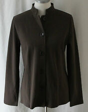 First Issue, Small, Polished Chocolate Knit Jacket, New with Tags