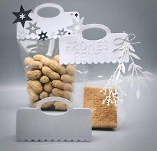 Stanzschablone/ Cutting dies Kekse Gebäck Süßigkeiten Geschenke Topper scallop