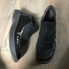 Mephisto Women Shoes 9.5 Black Leather Patent