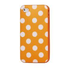 Oberschalen und Designfolien für iPhone 4s in Orange