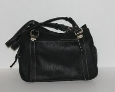 MACYS EXCLUSIVE DESIGNER ROSETTI  MED SIZE BAG IN SOFT MM LEATHER BLACK