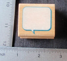 Caption Box by Stampcraft 440D133 Rubber Stamp