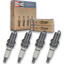 4 pc Champion Copper Spark Plugs for 2012-2018 Chevrolet Sonic - Auto Pre gm