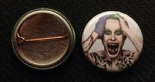 "Joker Suicide Squad - 1"" Pinback Button Pin - DC - Jared Leto  Buy 2 Get 1 Free"