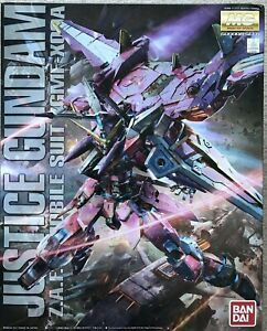 Bandai 1/100 MG Seed Justice Gundam Model Kit