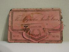 Vintage The Magnolia Needle Case Trifold Collectible w/ Needles ( Lot 9)