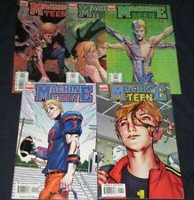 MACHINE TEEN #1-5 (NM) Full Set! 1st Appearance! 2005 Marvel Sumerak/Hawthorne